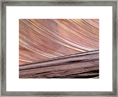 Framed Print featuring the photograph 'the Wave' North Coyote Buttes 02 by Jeff Brunton