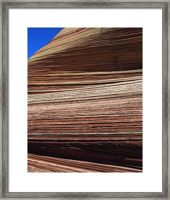 'the Wave' North Coyote Buttes 06 Framed Print