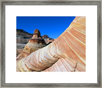 'the Wave' North Coyote Buttes 10 Framed Print