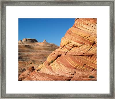 'the Wave' North Coyote Buttes 13 Framed Print