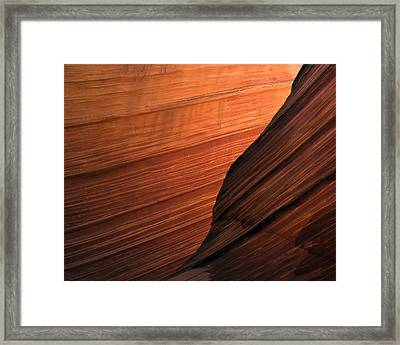 'the Wave' North Coyote Buttes 47 Framed Print