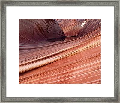 'the Wave' North Coyote Buttes 62 Framed Print