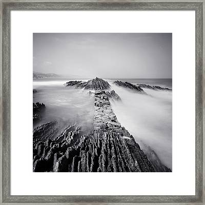 The Wavebreaker Framed Print by Nina Papiorek