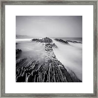 The Wavebreaker Framed Print by Nina Papiorek