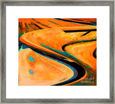 The Way 1 Framed Print by Gabriele Mueller