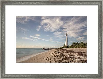 The Way Back Home Framed Print