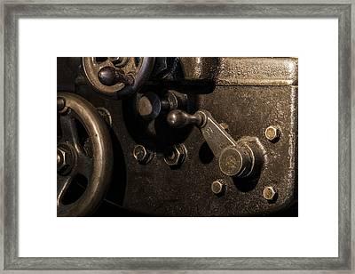The Way Back Machine Framed Print