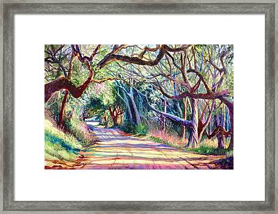The Way Home Framed Print by Alice Grimsley