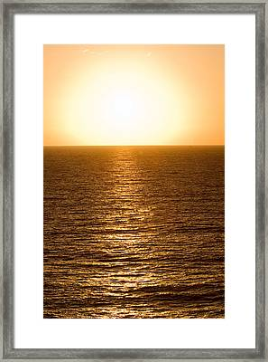 Framed Print featuring the photograph The Way Home by Brad Brizek