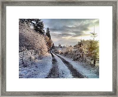 The Way Home Framed Print by Rory Sagner