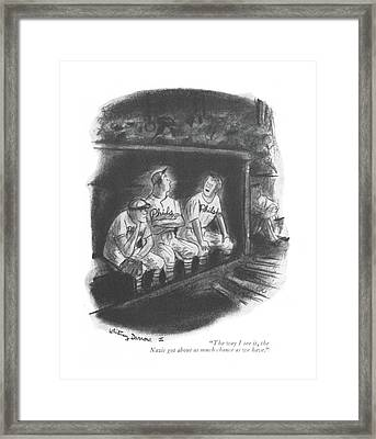 The Way I See Framed Print