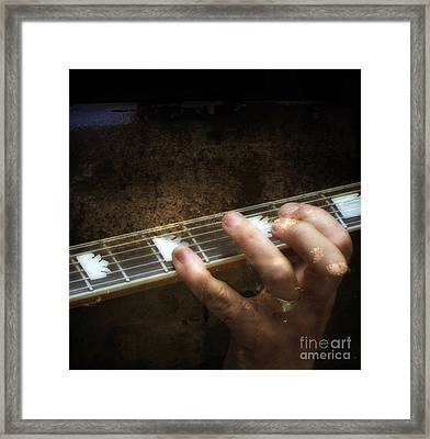 The Way In Which Someone Or Something Is Composed  Framed Print by Steven Digman