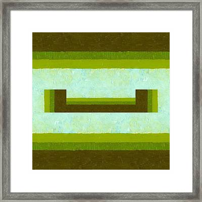 The Way Is Open Framed Print by Michelle Calkins