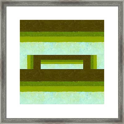 The Way Is Shut Framed Print by Michelle Calkins