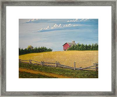 The Way It Was Framed Print by Norm Starks