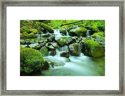 The Way Of Healing Water  Framed Print