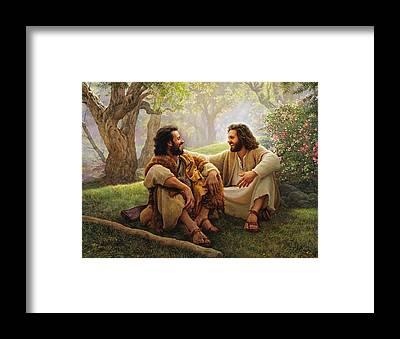 Christianity Framed Prints