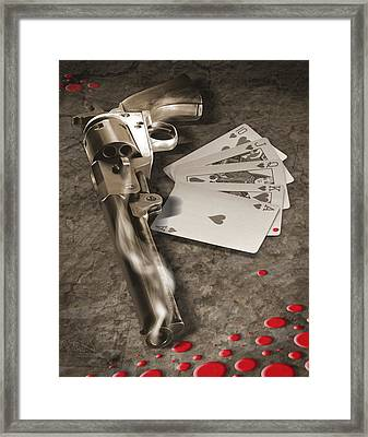 The Way Of The Gun 2 Framed Print by Mike McGlothlen