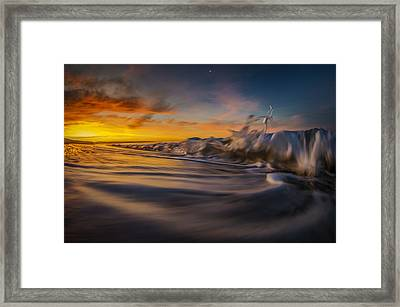 The Way Of The Wave Framed Print by Sean Foster