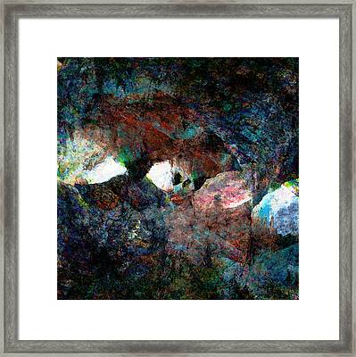 The Way Out Framed Print by Stephanie Grant