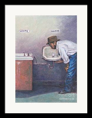 Discrimination Paintings Framed Prints