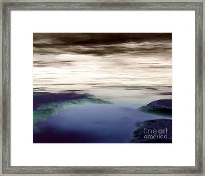 The Way To Avalon Framed Print