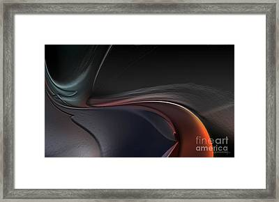 The Way To Nowhere Framed Print