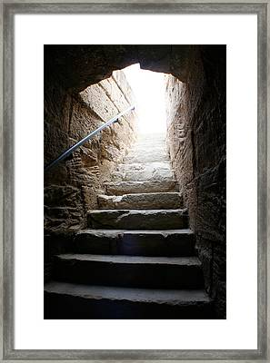 The Way Up Framed Print