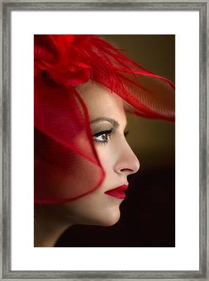 The Way You Look Tonight Framed Print by Evelina Kremsdorf