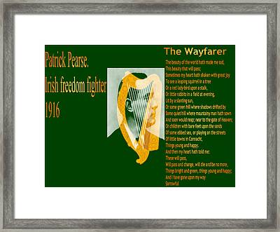 The Wayfarer Framed Print