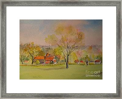 Framed Print featuring the painting The Weald Of Kent by Beatrice Cloake