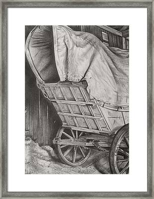 The Weary Traveler Framed Print by Chelsea Blair