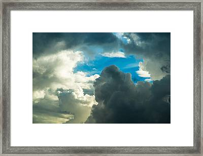 The Weather Is Changing Framed Print by Alexander Senin
