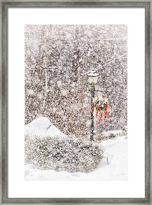 The Weather Outside Is Frightful Framed Print
