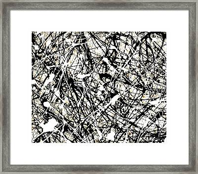 The Web By Laura Gomez Framed Print by Laura  Gomez