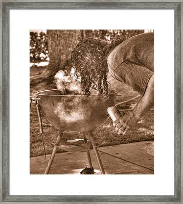 The Weber Whisperer Framed Print by Joe Schofield
