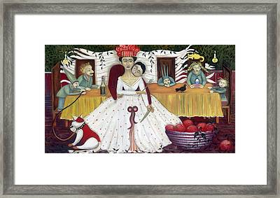 The Wedding Framed Print by Jennifer Taylor
