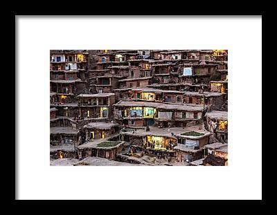 Urban Life Framed Prints