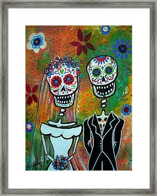 The Wedding Framed Print by Pristine Cartera Turkus