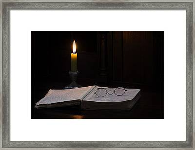 The Wee Hours... Framed Print