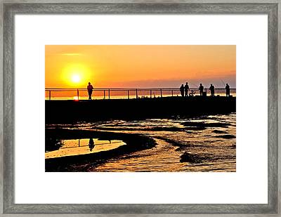 The Weekend Framed Print by Frozen in Time Fine Art Photography