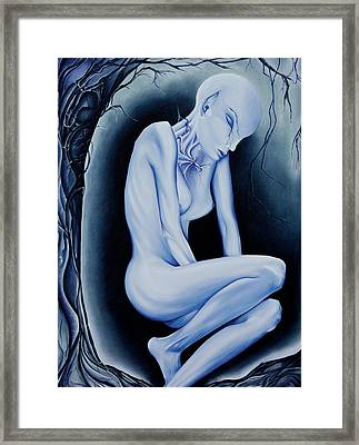 The Weeping Of A Thousand Years Framed Print by Amy Elizabeth  Quirk