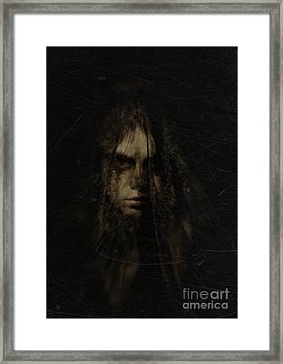 The Weeping Veil Framed Print by Eating Strawberries