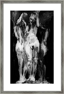 The Weight 2 Framed Print