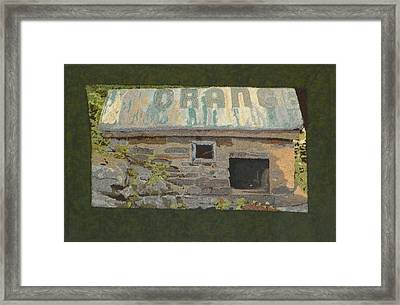 The Well House  Framed Print