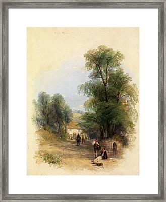 The Well Of St. Keyne, Thomas Creswick, 1811-1869 Framed Print