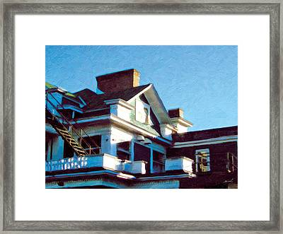Framed Print featuring the photograph The Welland Club 5 by The Art of Marsha Charlebois