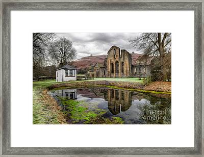 The Welsh Abbey Framed Print