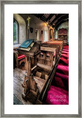 The Welsh Bible Framed Print by Adrian Evans