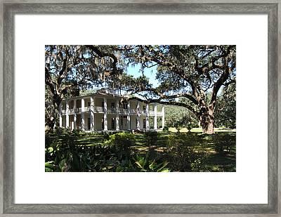 The Wesley House 1 Framed Print